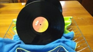How to Clean Vinyl Records at Home - Drying Rack